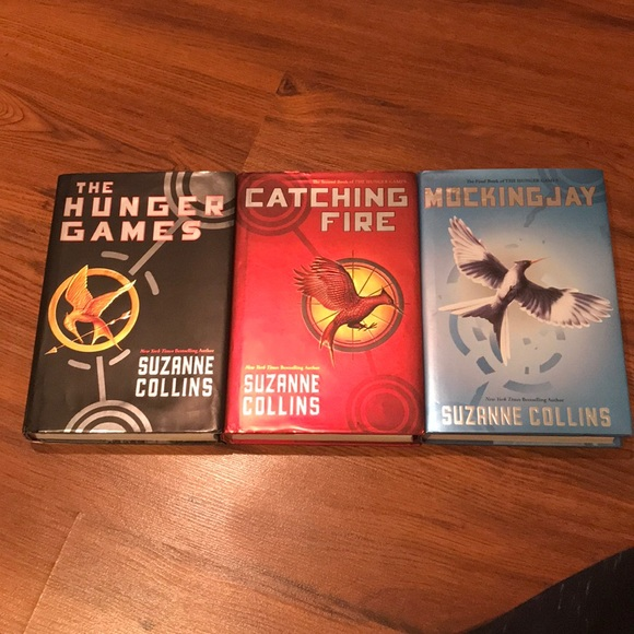 The Hunger Games Accents Full Trilogy Hunger Games Book Series